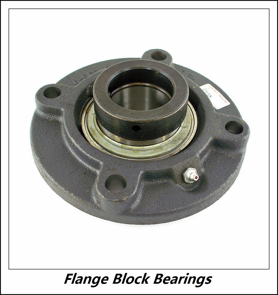 QM INDUSTRIES QAFY09A112SB  Flange Block Bearings