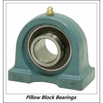 2.25 Inch | 57.15 Millimeter x 3.031 Inch | 77 Millimeter x 2.5 Inch | 63.5 Millimeter  DODGE SP2B-IP-204R  Pillow Block Bearings