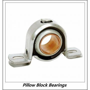 1.688 Inch | 42.875 Millimeter x 2.031 Inch | 51.59 Millimeter x 2.063 Inch | 52.4 Millimeter  LINK BELT PL3U227NK36  Pillow Block Bearings