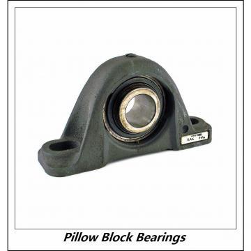 1.188 Inch | 30.175 Millimeter x 1.391 Inch | 35.331 Millimeter x 1.688 Inch | 42.875 Millimeter  DODGE P2B-SCU-103-HT  Pillow Block Bearings