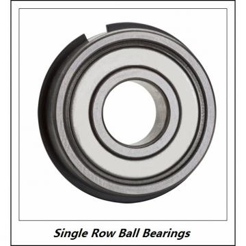 90 x 125 x 18  KOYO 6918 ZZ  Single Row Ball Bearings