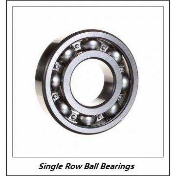 NACHI 6317 C3  Single Row Ball Bearings