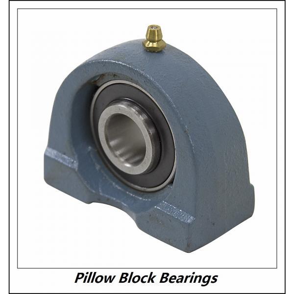 3 Inch | 76.2 Millimeter x 4.406 Inch | 111.912 Millimeter x 4.563 Inch | 115.9 Millimeter  LINK BELT PU348  Pillow Block Bearings #1 image