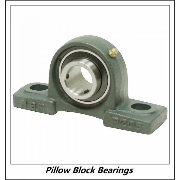 3.438 Inch | 87.325 Millimeter x 4.172 Inch | 105.969 Millimeter x 3.75 Inch | 95.25 Millimeter  DODGE SP2B-IP-307RE  Pillow Block Bearings #1 image